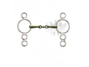 Udidlo Pessoa se čtyřmi kroužky 2x lomené