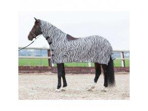 Deka síťovaná jezdecká Zebra