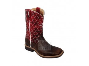Dětské westernové boty Twisted X Ruff Stock